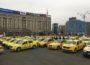 Transportatorii, din nou în stradă. Taximetriștii sunt nemulțumiți de legea pentru ridesharing. Sunt așteptate 800 de mașini în Piața Constituției